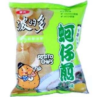 吉米台灣代購 蚵仔煎洋芋片 43g 薯片