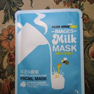 ◼️Images Face Mask Milk with Honey