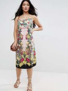 ASOS Cami Dress in Fruit Machine Print