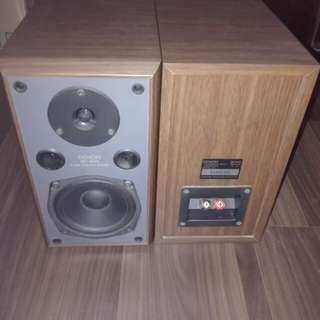 Rare Denon Bookshelf Speakers