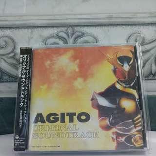 Japan CD Kamen Rider Agito Soundtrack