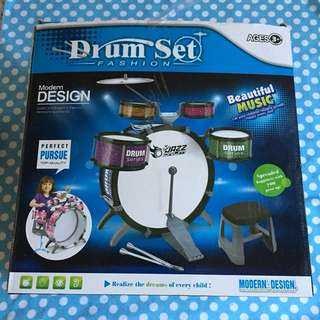 Preloved Drum Set
