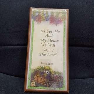 Home Deco of God's wording