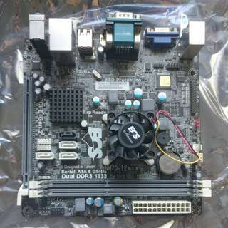 ECS Motherboard NM70-I2 mini-itx