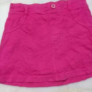 5Y Girl Pink Skirt