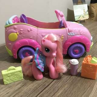 My Little Pony Pinkie Pie Convertible Car