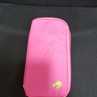 Travel organizer ×2 (1 pink and 1 red)$10 each.