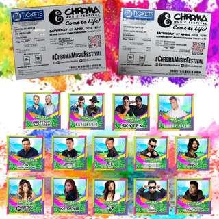 Chroma Music Festival Tickets (GA & VIP)