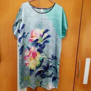 【New 全新】女裝絲質睡衣