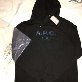 APC hoodie size Large (Brand new tried on once)