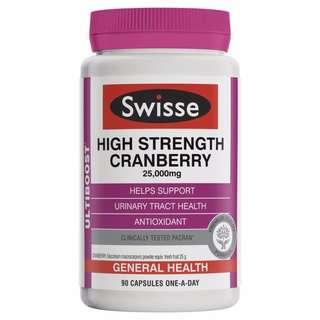 Swisse 蔓越莓25000mg 90粒裝