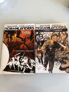 Brian Wood - Northlanders Book 1, 2 & 3