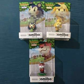 (CNY special) BN Animal Crossing Amiibo (3 for price of 1)