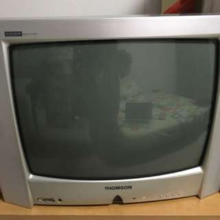 Retro television set in excellent working condition