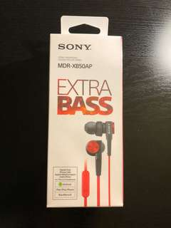 Sony Extra Bass Earphones