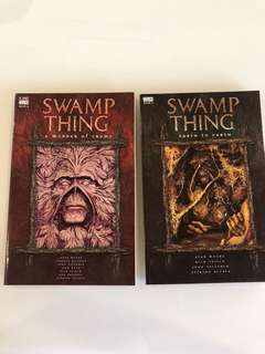 Alan Moore - Swamp Thing Vol 4 & 5