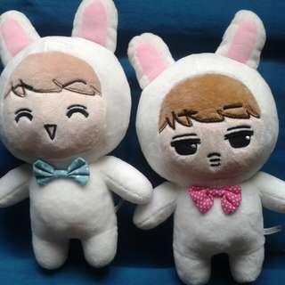 EXO Doll Sehun and Kai Rabbit