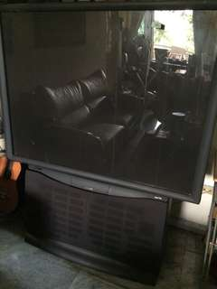 Philips 64 inch (tv tabung/antik)
