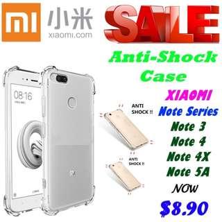 Xiaomi Anti-Shock Case (Note Series) (Redmi)