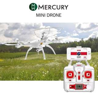 Mercury Drone I Aerial Senior Shaft Aircraft RC Quadcopter With 2.0MP HD Camera