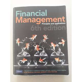 Financial Management by J William Petty (6th Edn)