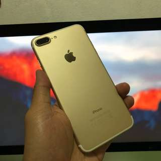 iPhone 7 plus 256gb Gold (Can trade in)