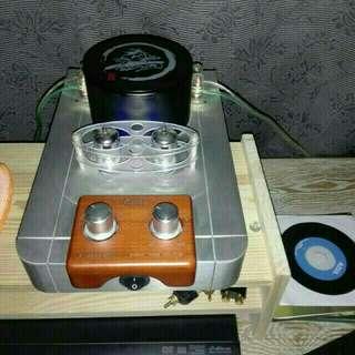 Qinpu tube amp + JVC speakers