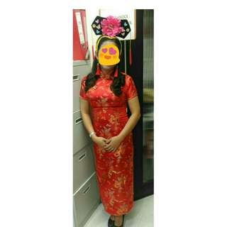 Chinese costume for adult
