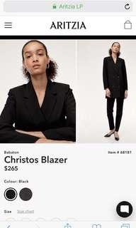 Aritzia Babaton Christos blazer size XS