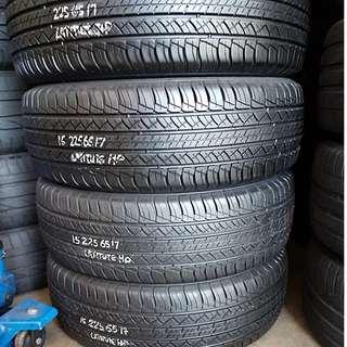 Used Tyre 225/65r17 80%tread