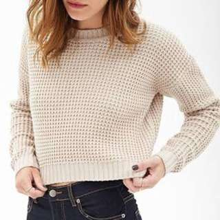H&M Divided crop knit