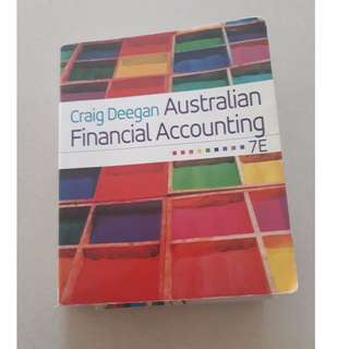 Australian Financial Accounting by Craig Deegan
