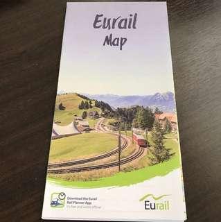 Eurail Map