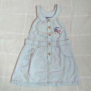 [Preloved] Overall Dress Cool Baby