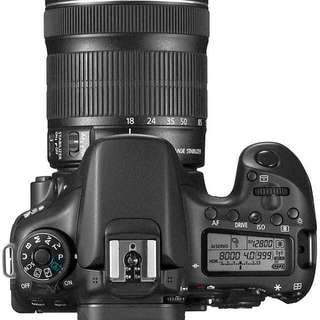 Canon EOS 70D 18-200MM