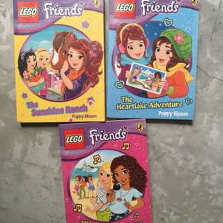 LEGO friends set of 3