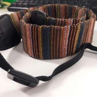 Strap camera - tribal