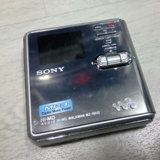 Sony mz rh10 minidisc player