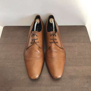 Kurt Geiger Tan Formal Leather Shoes