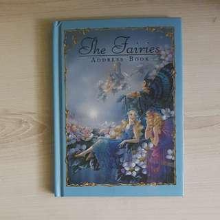 Fairy themed alphabetic address book