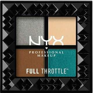 NYX PROFESSIONAL MAKEUP Full Throttle Shadow Palette [Stunner]