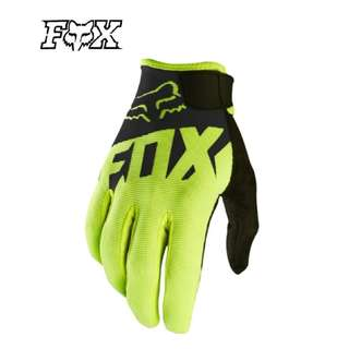 ★READY STOCK ★FOX HIGH QUALITY MOTORCYCLE GLOVES ★ NEW BLACK ★ E-SCOOTER GLOVES ★ E-BIKE ★ MOUNTAIN ★ HILL ★ DIRT BIKE ★NEW ARRIVALS ★ WHILE STOCK LASTS