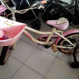 Sepedah Anak Hello Kitty