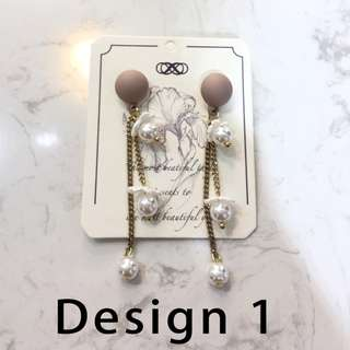 Chic earrings from Taiwan (Listing 1 of 3)