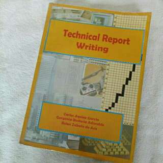 Technical Report Writing College Book