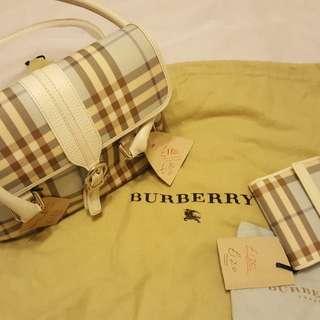 BURBERRY 手袋連銀包