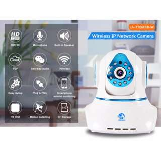 Jooan Wireless IP Camera (Free Delivery, memory card and Connection)