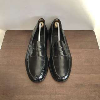 Beauty & Youth United Arrows Black Penny Loafers Formal Leather Shoes