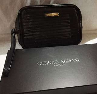 Pouch makeup giorgio armani/pouch makeup branded
