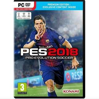 Pro Evolution Soccer 2018 - Offline